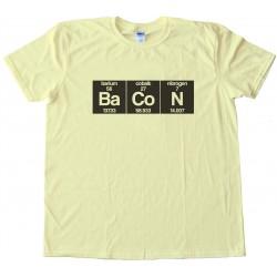Bacon Periodic Chart Tee Shirt