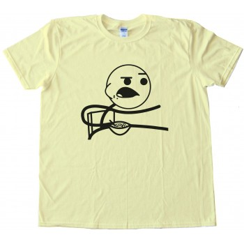 Cereal Guy Rage Comic Face Tee Shirt