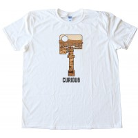 Curious - Mars Rover Head Camera - Tee Shirt