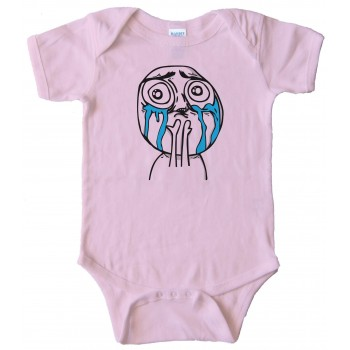 Cuteness Overload - Rage Comic Face - Baby Bodysuit