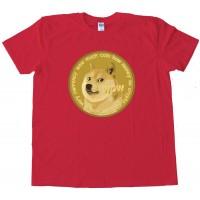 Dogecoin Doge Currency So Crypto Plz Mine Tee Shirt