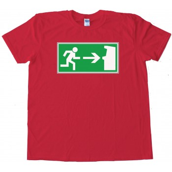 Emergency Classic Arcade Game Exit - Tee Shirt