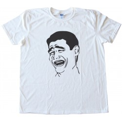 Fts Yao Ming Rage Face Tee Shirt