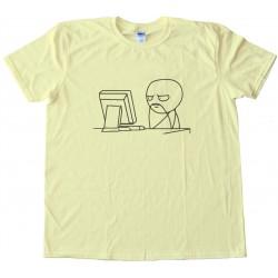 Fu Man Chu Reddit Computer Guy Tee Shirt