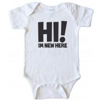 Hi I'M New Here - Baby Bodysuit