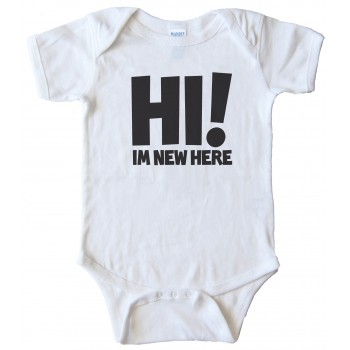 Hi I'M New Here - Baby Bodysuit