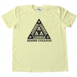 Lambda Lambda Lambda Fraternity Revenge Of The Nerds - Tee Shirt