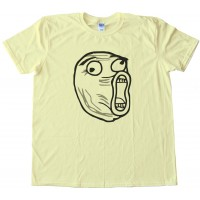 Lol Rage Comic Face Tee Shirt