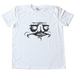 Me Gusta Face Design Tee Shirt