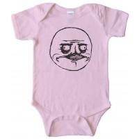 Me Gusta - Rage Comic Face - Baby Bodysuit
