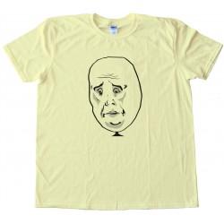 Okay Rage Comic Face Tee Shirt