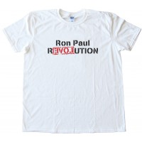 Ron Paul Revolution Love Tee Shirt