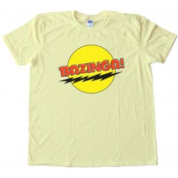 The Big Bang Theory Bazinga Tee Shirt