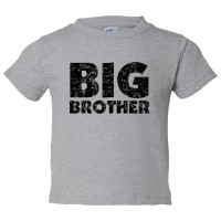 Toddler Sized Big Brother - Toddler Tee Shirt Rabbit Skins