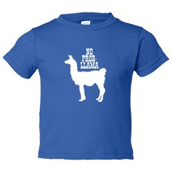 Toddler Sized No Problem Prob Llama Animal - Tee Shirt Rabbit Skins