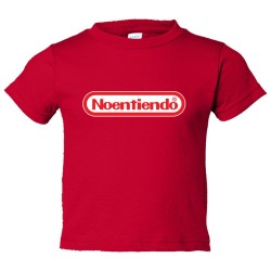 Toddler Sized Noentiendo Nintendo I Don'T Understand - Tee Shirt Rabbit Skins