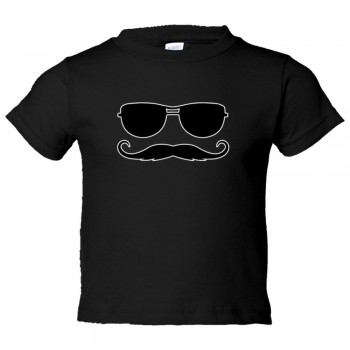 Toddler Sized Ray Ban Sunglasses With Killer Mustache - Tee Shirt Rabbit Skins