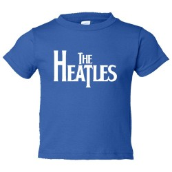 Toddler Sized The Heatles Miami Heat Basketball Beatles - Tee Shirt Rabbit Skins