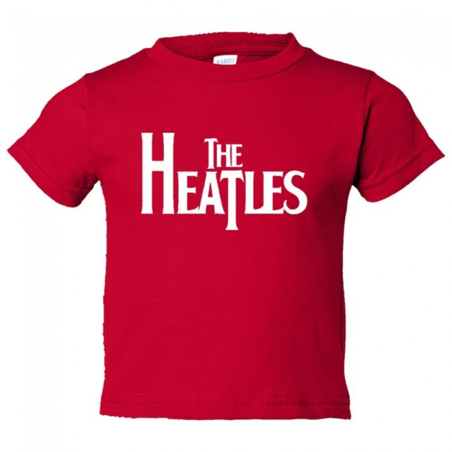 Toddler sized the heatles miami heat basketball beatles for Shirts and skins basketball