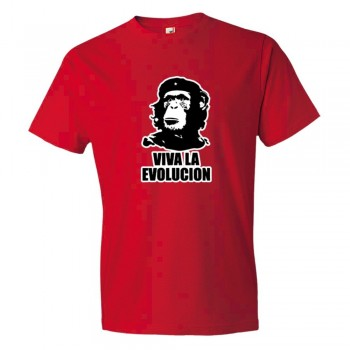 Viva La Evolucion Che Guevara Chimp - Tee Shirt