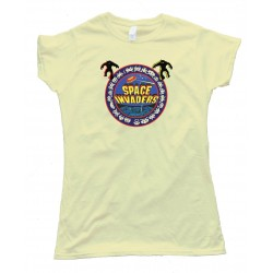 Womens 1978 Space Invaders Bally Midway Classic Video Gamer - Tee Shirt