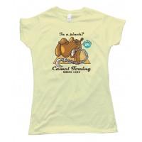 Womens Camel Towing Since 1969 - Camel Toe - Tee Shirt