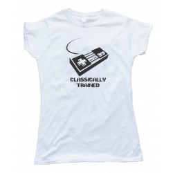 Classically Trained Nintendo Controller Gamer - Tee Shirt