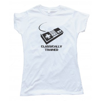 Classically Trained Nintendo Controller Gamer - Tee Shirt