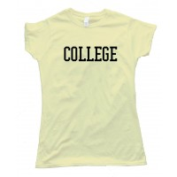 Womens College Animal House - Tee Shirt