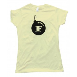 Womens F Bomb - Tee Shirt