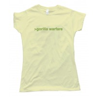 Womens Gorilla Warfare - Tee Shirt