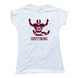 Womens Griffining Robert Lee Griffin 3 Rg3 Washington Redskins Tee Shirt