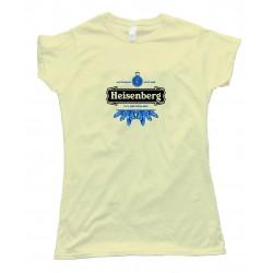 Womens Heisenberg Heineken Logo - Tee Shirt