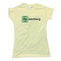Womens Heisenberg Helium - Tee Shirt