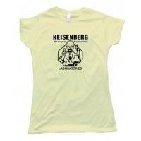 Womens Heisenberg Laboratories - Tee Shirt