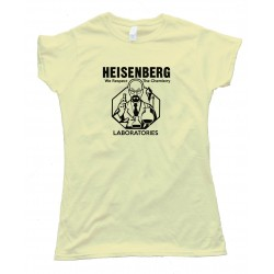 Womens Heisenberg Laboratories - Tee Shirt