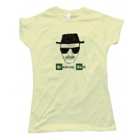 Womens Heisenberg Sketch Breaking Bad - Tee Shirt