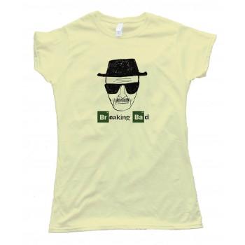 Womens Heisenberg Sketch Breaking Bad - Tee Shirt