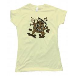 Womens Hey Coffee Hey Kool Ade! - Tee Shirt
