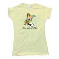 Womens I Am Legendary Legend Of Zelda Nintendo - Tee Shirt