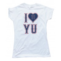 Womens I Love Yu - Yu Darvish Texas Rangers Pitcher Tee Shirt