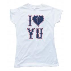 Womens I Love Yu - Yu Darvish Texas Rangers Pitcher Tee Shirt