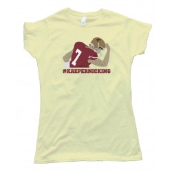 Womens Kaepernicking 49Ers Quarterback -- Tee Shirt