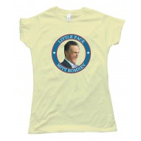 Womens Little Face Mitt Romney - Tee Shirt