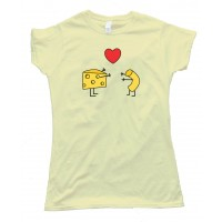Womens Mac & Cheese Together Forever - Tee Shirt