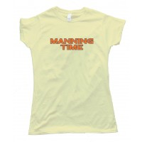 Womens Manning Time - Denver Broncos Football - Tee Shirt