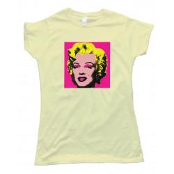 Womens Marylin Monroe Pop Art - Tee Shirt
