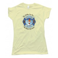 Womens Miami Beach Fire Department - Tee Shirt