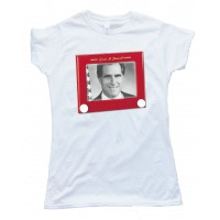 Womens Mitt Romney Etch A Sketch Tee Shirt