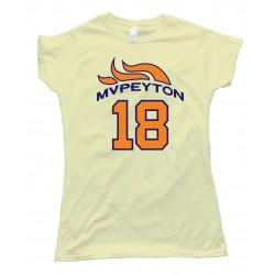Womens Mvpeyton Peyton Manning Denver Broncos Tee Shirt
